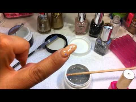 COMO HACER TU GEL POLISH Y EL COLOR A L GUSTO ^,^. - YouTube