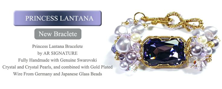 Princess Lantana Bracelete by AR Signature