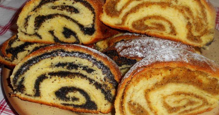 Mennyei Zalai fodros mákos-diós rétes recept! Finom ropogós héja, puha belsője. Nagyon finom lett.