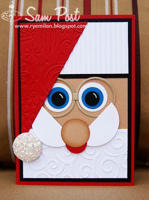 Ryemilan's Ramblings: More Christmas Punch Art Tinkering...