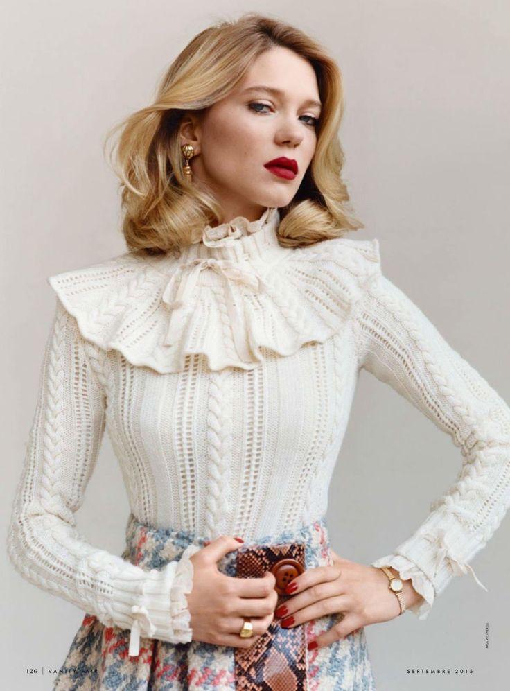 Lea Seydoux by Paul Wetherell for Vanity Fair France September 2015