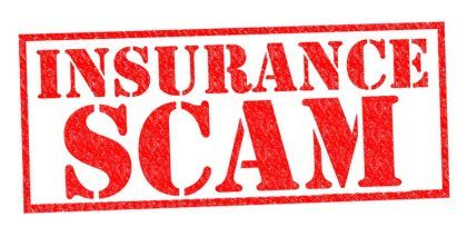 Scams of insurance agencies
