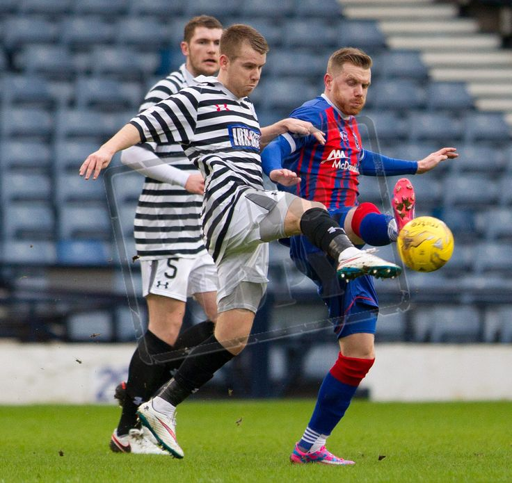 Queen's Park's Jamie McKernon on the ball during the SPFL League Two game between Queen's Park and Elgin City.