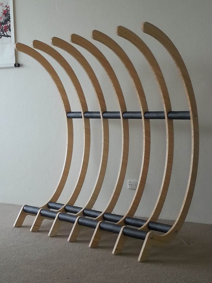 Freestanding surfboard / bike rack - Surfing Shortboards - Seabreeze Forums