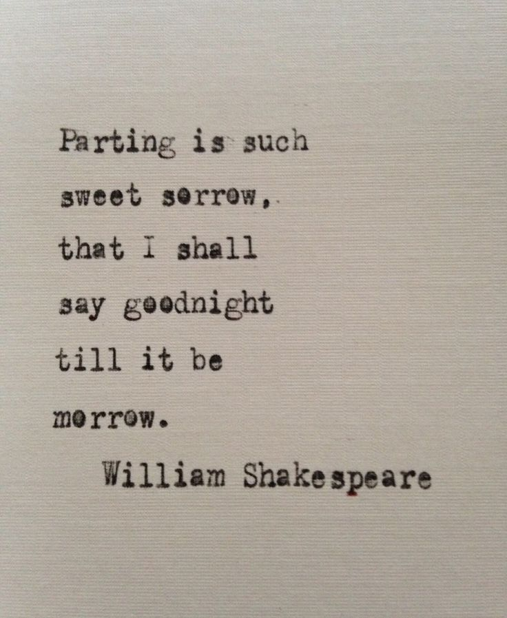 William Shakespeare quote hand typed on antique typewriter