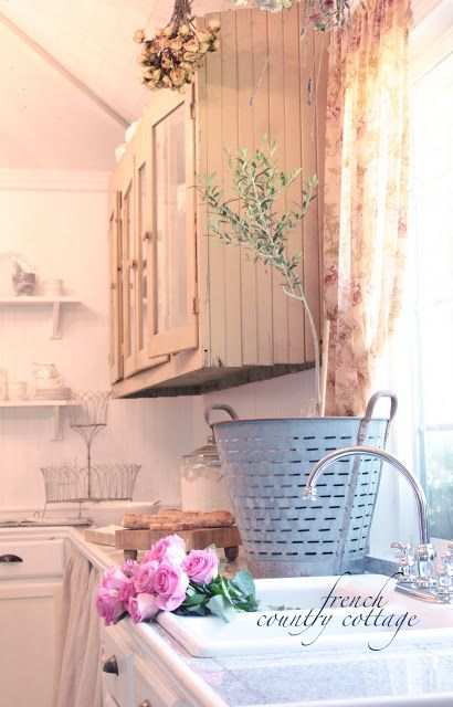 FRENCH COUNTRY COTTAGE: Olive Basket Love