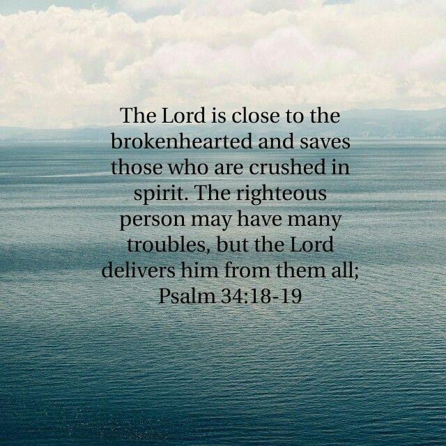 Psalm 34:18-19