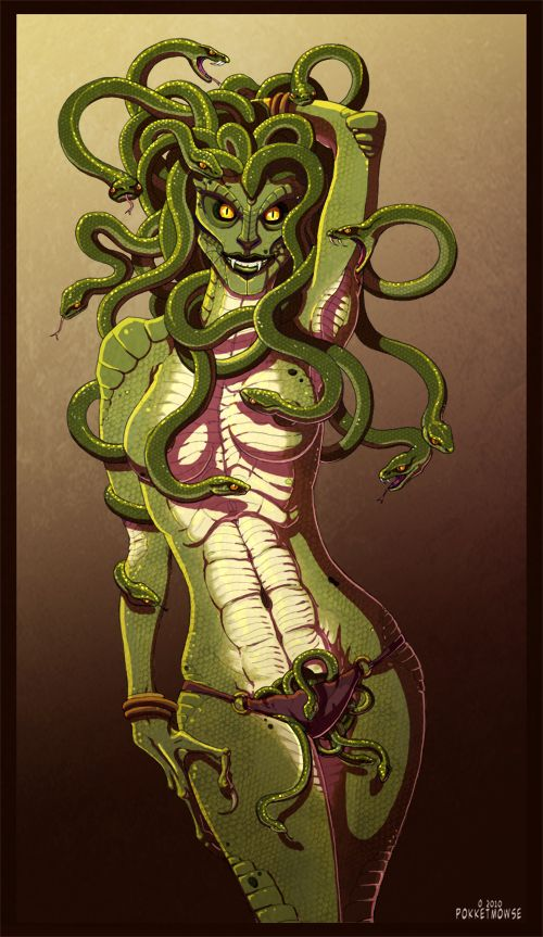 I like the facial scales, shoulder scales, tummy scales, armpit scales. Not excited about the snake pubes though.