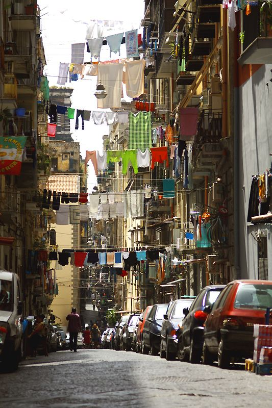 Colorful Naples, Italy (Copyright: Ludo Catti). Re-pinned by #Europass. Do you want to visit this city? Take part into the #Europass contest: http://europass.cedefop.europa.eu/en/video-competition