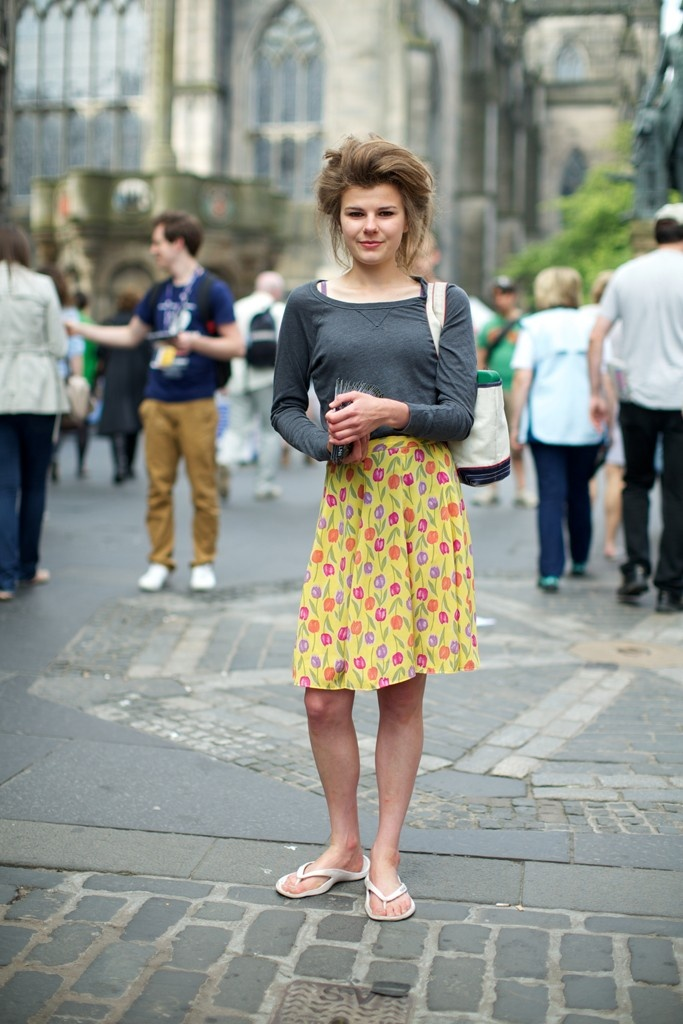They Are Wearing: The Edinburgh International Festival - WWD.com