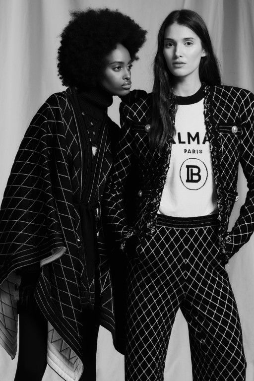 Balmain Pre-Fall 2019 Womenswear Assortment – Paris