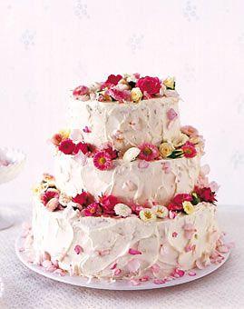 Hochzeitstorte - Torten: prachtvoll & lecker - [LIVING AT HOME]