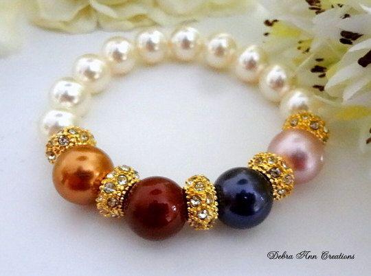 Mothers Bracelet Mothers Birthstone Bracelet by DebraAnnCreations