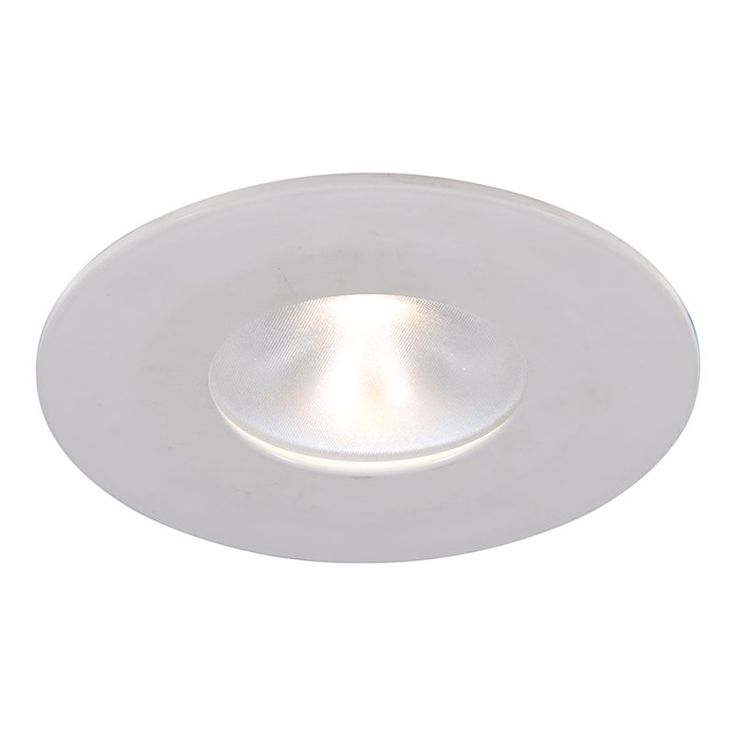 "WAC Lighting HR-2LD-ET109N-27 2"" 2700K High Output LED Recessed Light Pinhole Tr White Recessed Lights Recessed Trims Pinhole Trims"