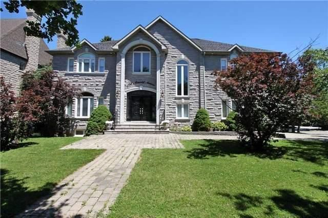 Executive Home At Prestigious Thornhill Address. Grand Foyer (30'X12.5') W/Granite Flrs & Cathedral Ceiling Welcomes You To Spacious Living & Entertaining Areas. Features 5+2 Bdrms, 8 Baths; Approx 5000 Sq' + Bsmt & 3 Car Gar; Eat In Kit With W/O To Lg Deck; 9' Main Flr & 10' Bsmt Ceilings; 2200 Bottle Internationally Recognized Wine Cellar; Theatre W/13' Screen, Tiered Recliners: 2 Br Nanny Suite; School Bus Stop; Easy Walk To Places Of Worship, Parks & Shops