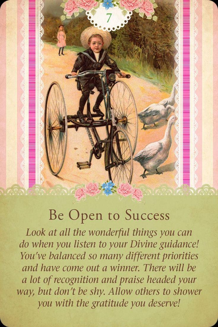 Sta open voor succes