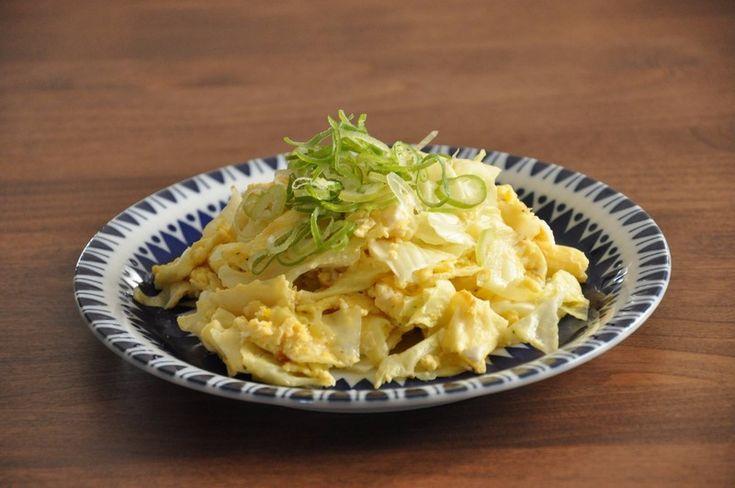 シンプルなのにおいしい!キャベツとたまごの炒めもの|LIMIA (リミア)