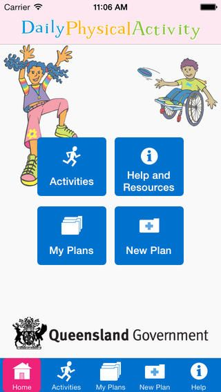 Daily Physical Activity Guide is a 'how to' manual for early childhood professionals, primary and secondary teachers. The aim of this resource is to get school children active, and to instil in them a positive attitude towards an active lifestyle. By creating this mobile app, we've vastly broadened the possibilities by making it accessible to more Queenslanders. This app will not only continue to help teachers to incorporate physical activity into their daily teaching programs.
