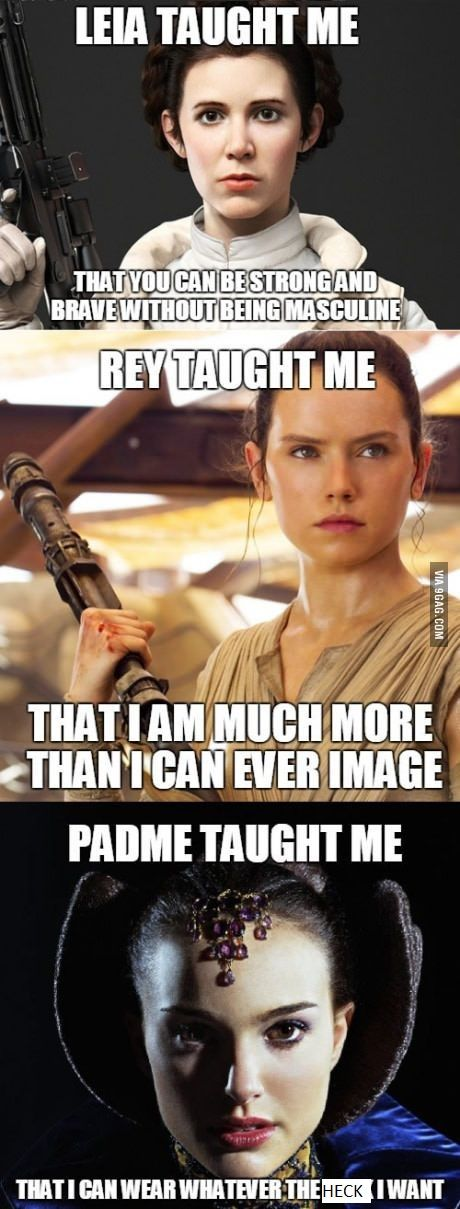 !!***Padme taught me to believe in democracy and peace even in the face of extreme adversity. She taught me that love is worth fighting for even when it seems impossible. AND she taught me to never give up on the people I love, even when they seem beyond saving.***!! don't come at me with that weak ass shit up there. Padme was hands down the best female character in Star Wars and she doesn't deserve half the shit she gets put down for.
