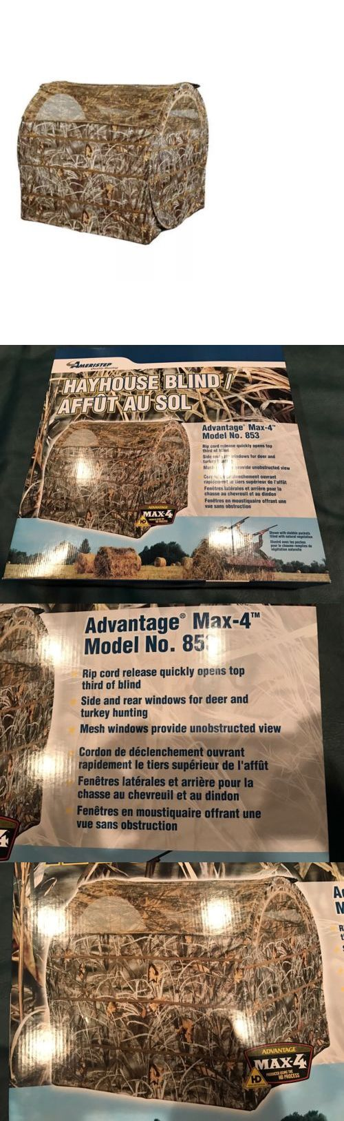 Blinds 177910: Ameristep Hayhouse Duck Dove Deer Hunting Ground Field Blind - New - Free Ship BUY IT NOW ONLY: $125.0
