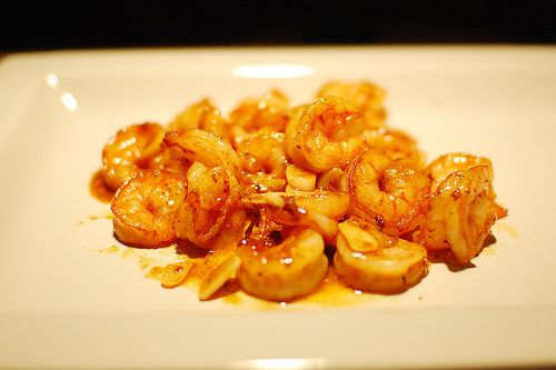 Spicy Orange Garlic Shrimp by Pioneer Woman