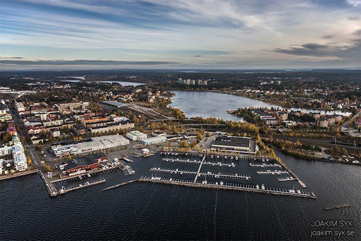 Ettans båthamn i Luleå