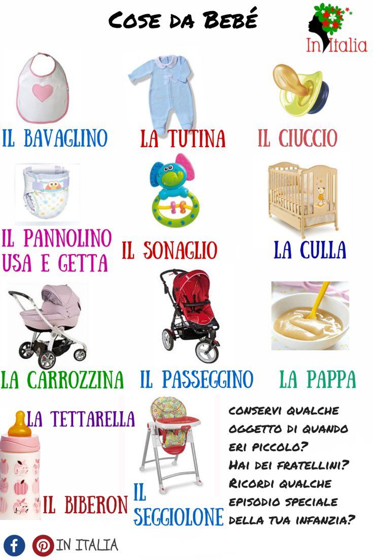 #lessicoitaliano #initalia #cosadabebe…