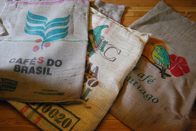 coffee bag pillow cases: Pillows Cases, Beans Teas Leaves, Bags Pillows, Coffe Bags, Pillows Talk, Coffee Beans Teas, Coffee Bags, Baby Shower