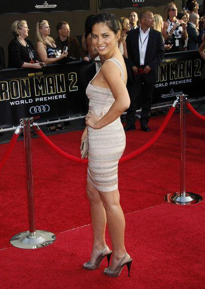 Olivia Munn Photos Photos - Celebrities attend the 'Iron Man 2' world premiere at the El Capitan Theatre in Hollywood, CA. - 'Iron Man 2' World Premiere - Arrivals