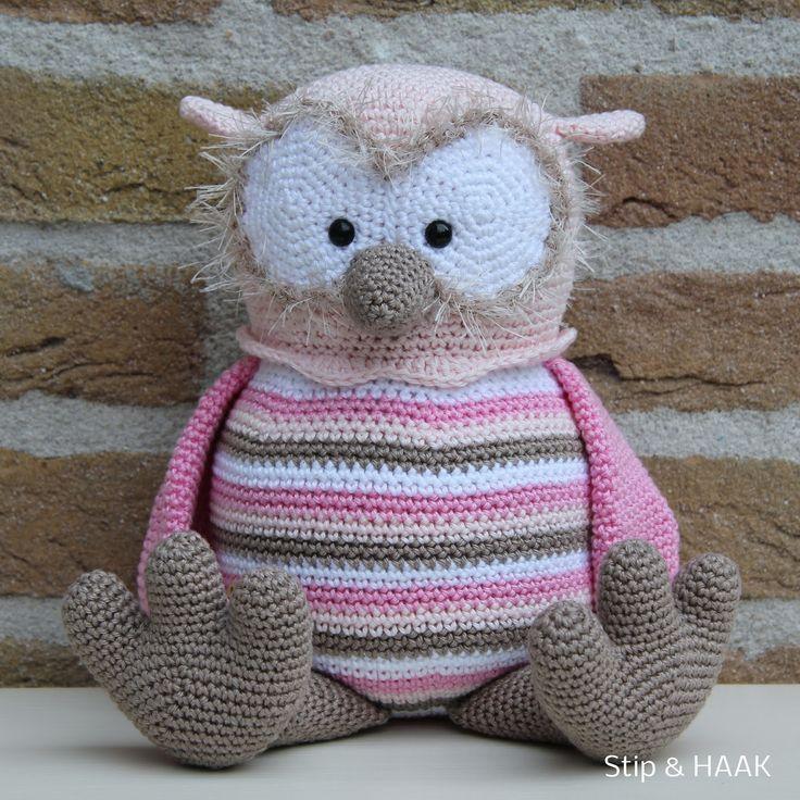 Bram the Bear Stip and Haak(plus Santa hat) [Crochet Pattern] pdf (Request)
