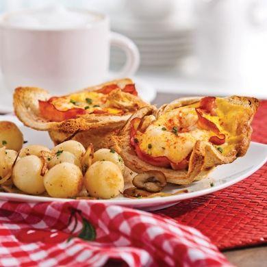 Tulipes-déjeuner - Brunchs - Recettes 5-15 - Recettes express 5/15 - Pratico Pratiques