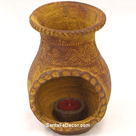 Image detail for -Southwest Pottery|Southwestern Pottery Chiminea|Southwest Home Decor