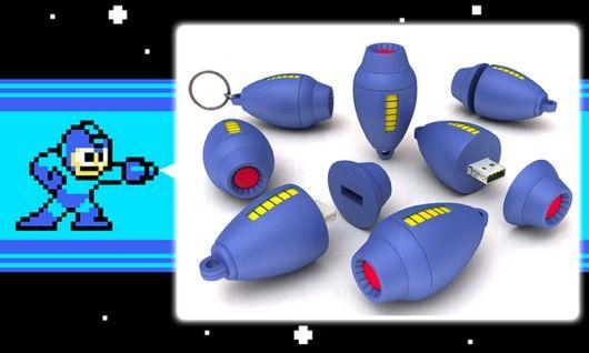 Mega Buster USB drive