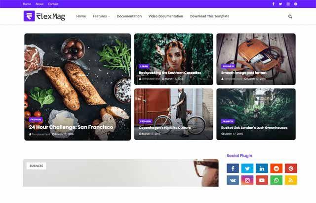 Flexblog Blogger Template Premium Version Free Download Blogger Templates Magazine Blogger Template Free Blogger Templates