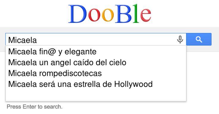 ¿Que dice el buscador DooBle sobre tí? - CuriosiTest