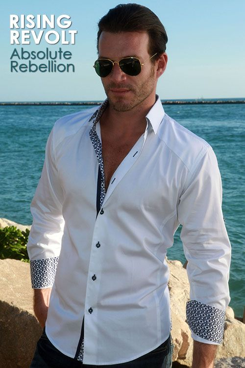 Modern Menswear | Absolute Rebellion Mens Shirts | Spring 2013   Perfect gift option for any occasion!