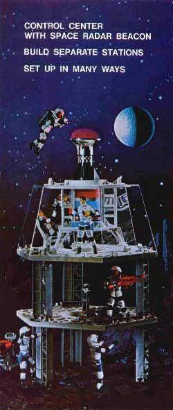 Major Matt Mason - Space Station