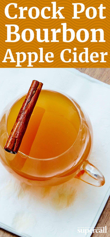 Crock Pot Bourbon Apple Cider
