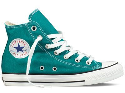the first person to get me a pair of high-top converse will get a big hug and loved by me forever! let the games begin! #teal