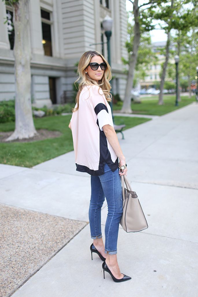 Ivory Lane: sleek and casual evening outfit
