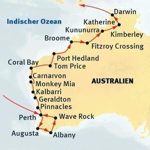 West-Australien überland