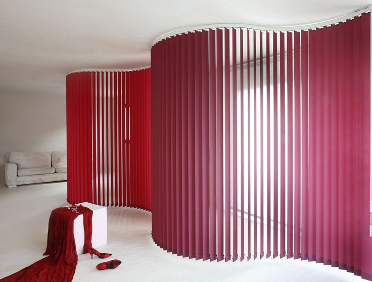 Fabric Vertical Blinds Window Treatmentsfabric
