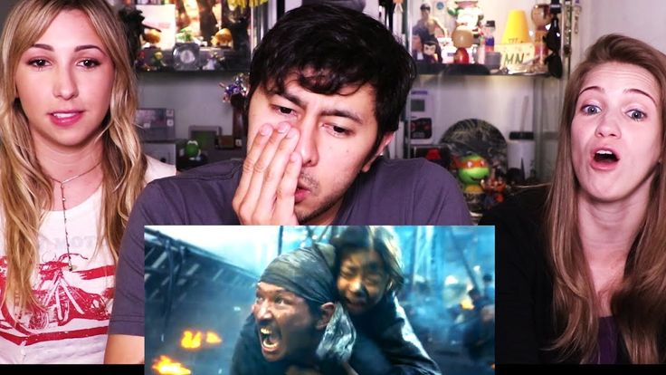 THE BATTLESHIP ISLAND | Korean Movie | Trailer Reaction w/ Ashley & Morgan!