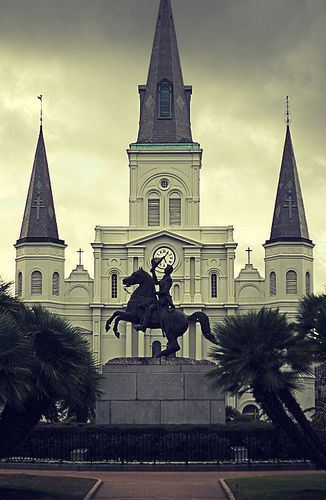 St. Louis Cathedral... French Quarter 2013, New Orleans. Been here in mid 70's while in AF. . Great time