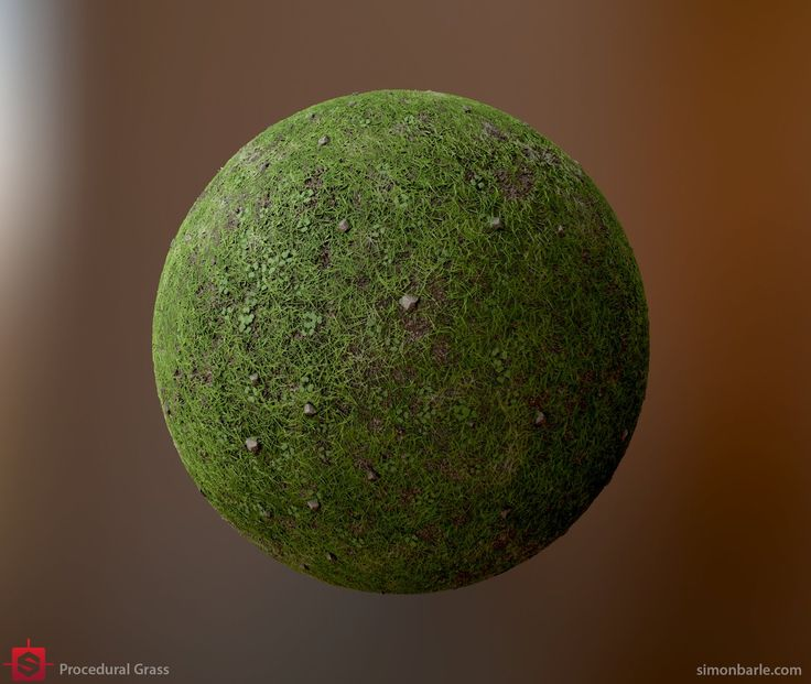 Procedural Grass, Substance Designer, Simon Barle on ArtStation at https://www.artstation.com/artwork/Bka2z