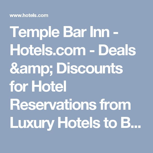 Temple Bar Inn - Hotels.com - Deals & Discounts for Hotel Reservations from Luxury Hotels to Budget Accommodations