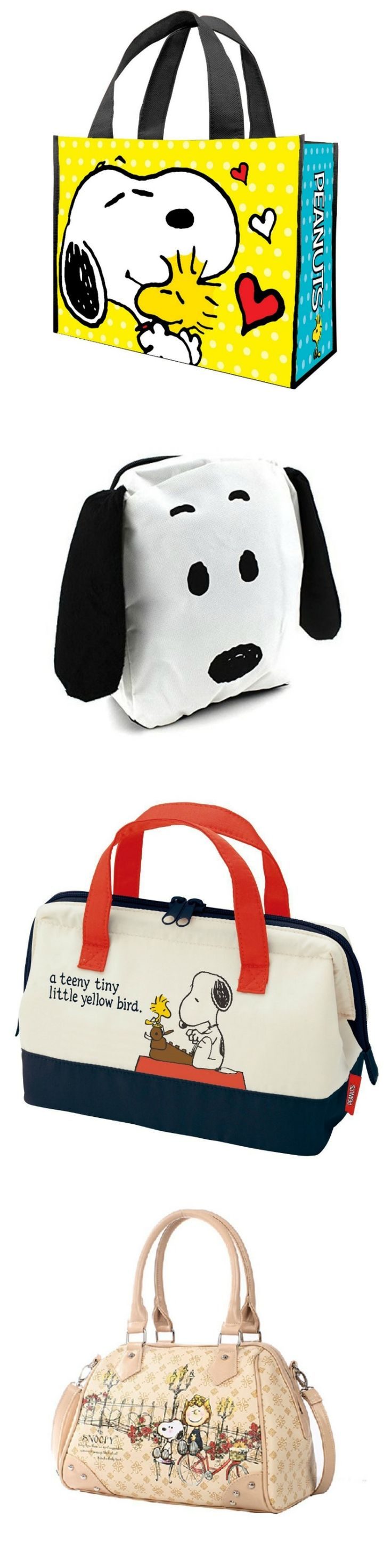Totes for you! Start shopping via CollectPeanuts.com for Snoopy and Peanuts tote bags, purses, backpacks and more.