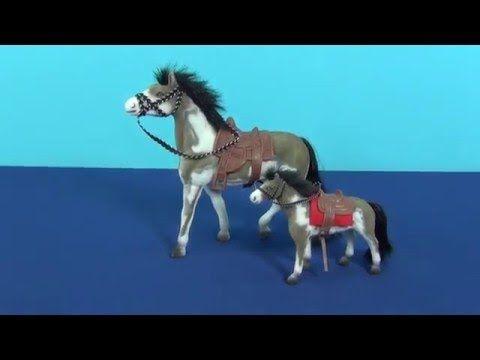 Лошадь. Игрушечная лошадка для детей. Игрушка лошадь с маленьким жеребенком