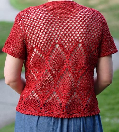 Elegant Crochet Sweaters: Women's Crochet Sweater With
