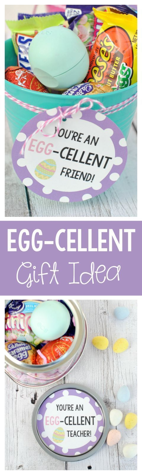 Cute Easter Gift Ideas: EGG-cellent Gift Basket